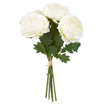 Bouquet de roses à longues tiges