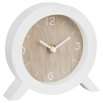 Horloge de table ronde