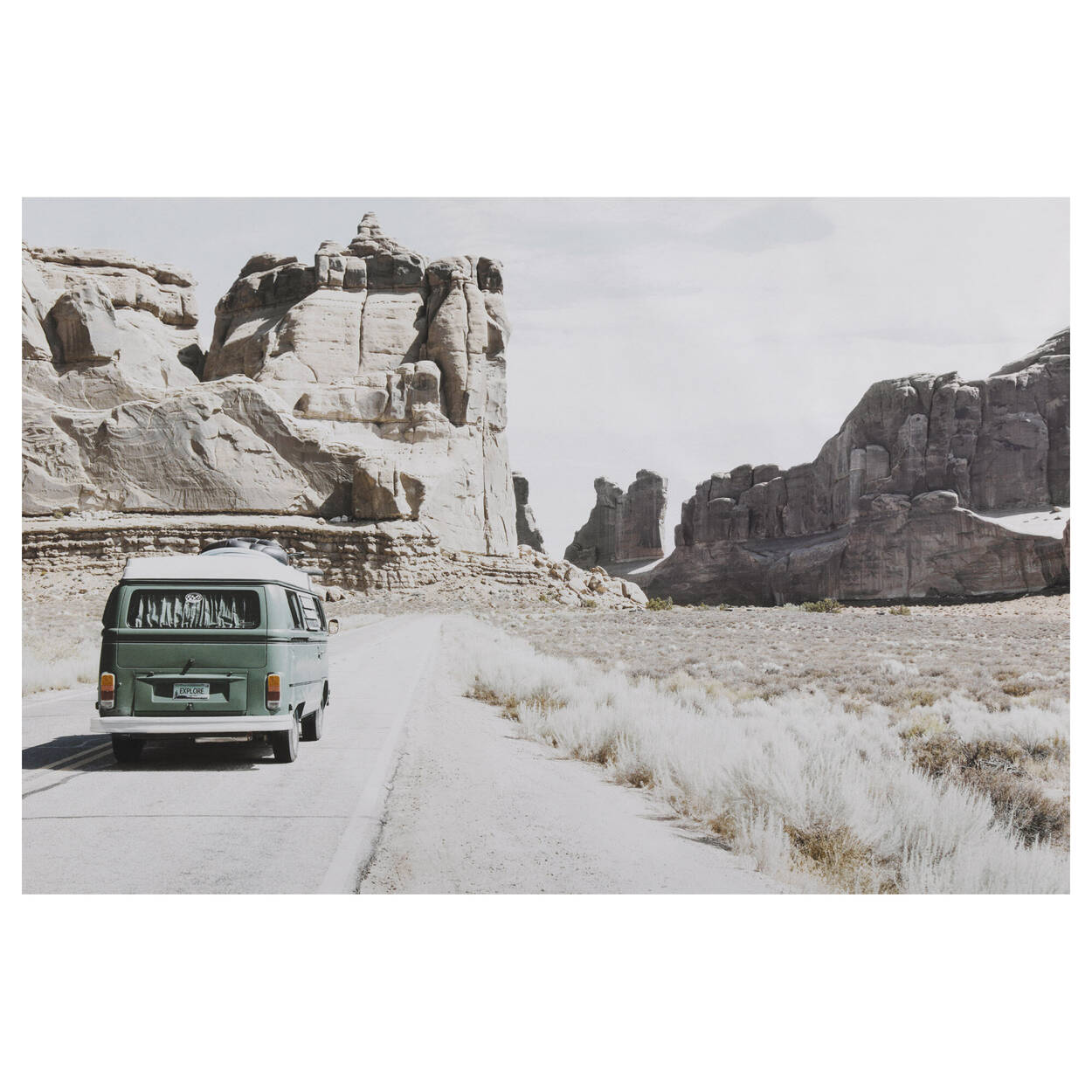 Winnebago in Desert Printed Canvas