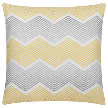 "Three-Toned Water-Repellent Decorative Pillow 18"" X 18"""