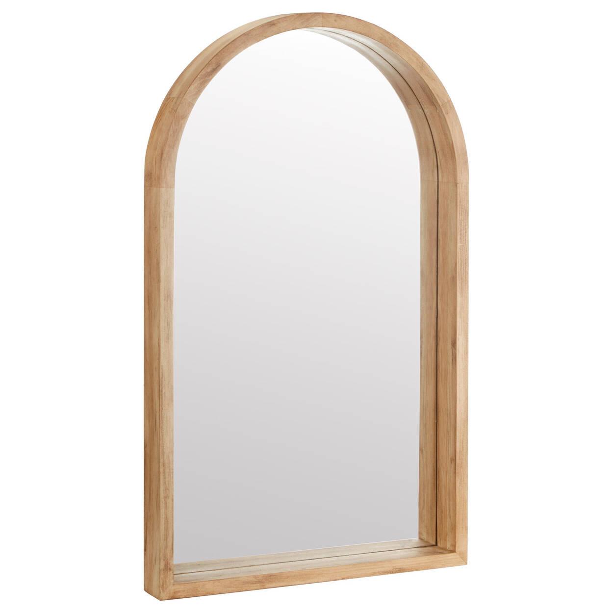 Arched Barn Wood Mirror