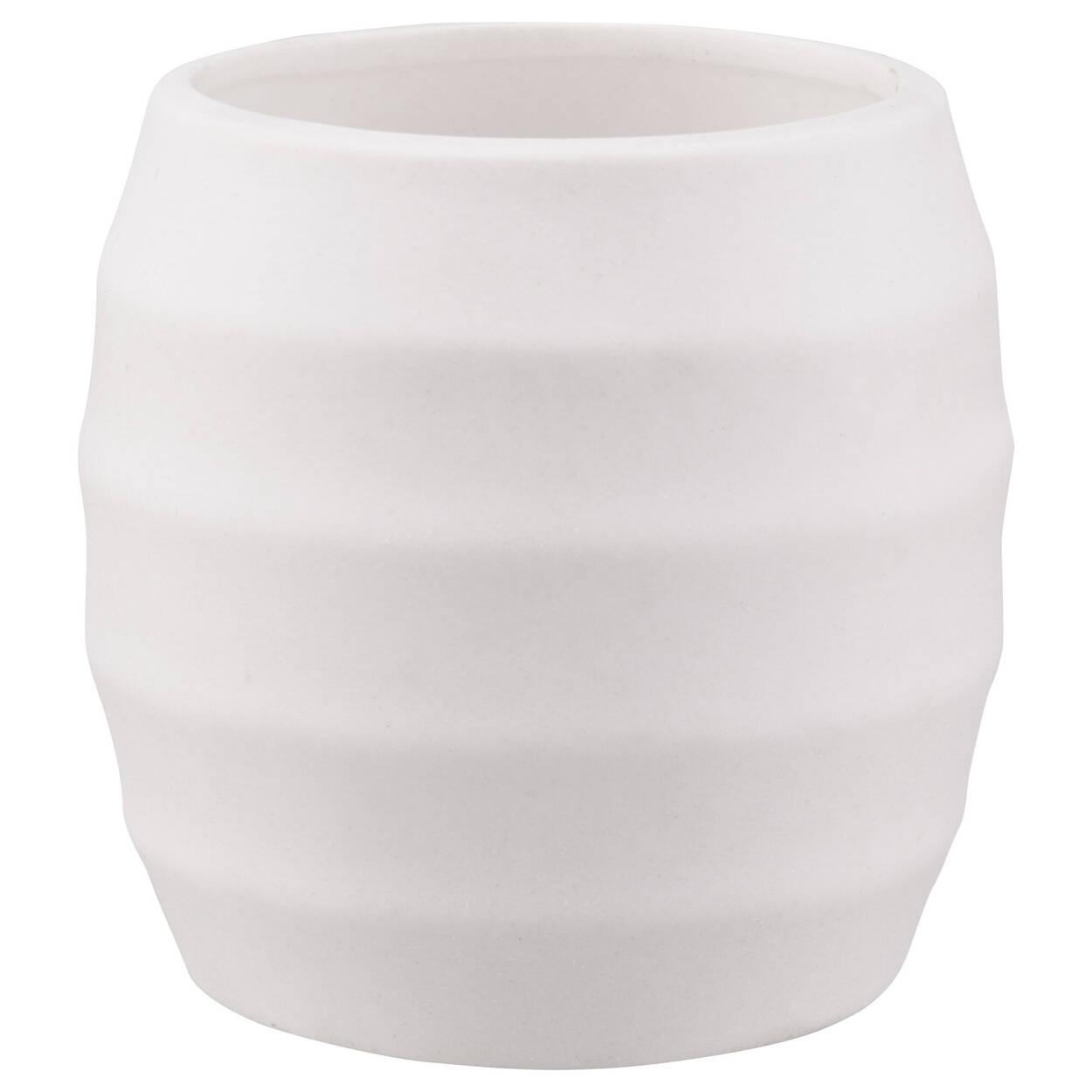 Textured Ceramic Candle