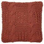 """Nuala Knitted Decorative Pillow 18"""" X 18"""""""