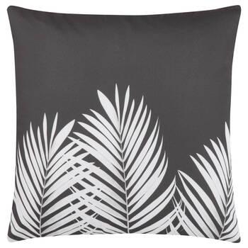 "Leaf-Print Decorative Pillow 18"" x 18"""