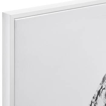 Shy Owl Printed Framed Art