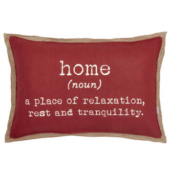 "Home Decorative Lumbar Pillow 13"" X 20"""