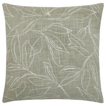 "Leaf Printed Imogen Decorative Pillow 19"" x 19"""