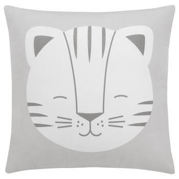 "Baby Tiger Decorative Pillow 15"" X 15"""