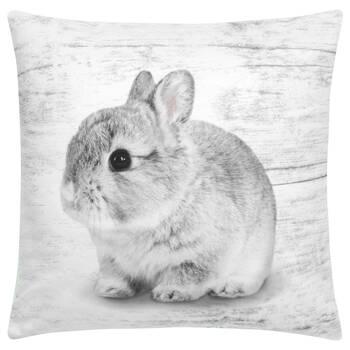 "Baby Rabbit Decorative Pillow 15"" X 15"""