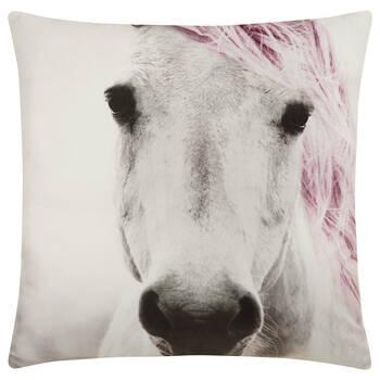 """Coussin décoratif cheval Jasna 19"""" X 19"""""""