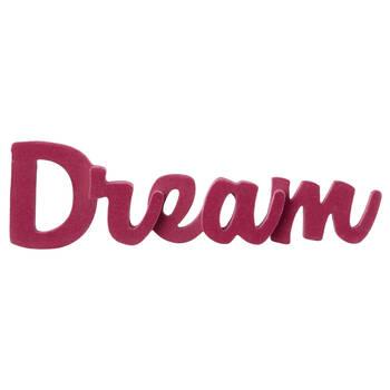 Velvet Decorative Word Dream