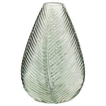 Leaf Glass Table Vase