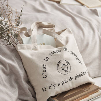 Eco Bag with Typography