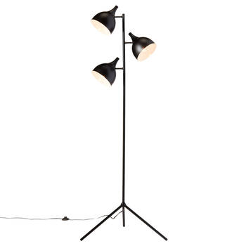 3-Head Metal Floor Lamp