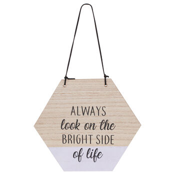 Bright Side Hanging Wall Art