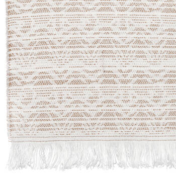 "Jyne Throw with Tassels 50"" X 60"""