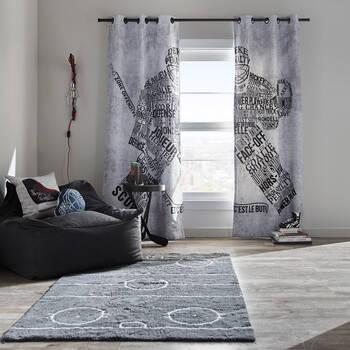 Davin Set of 2 Panel Curtains