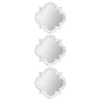 Set of 3 Geometric Mirrors