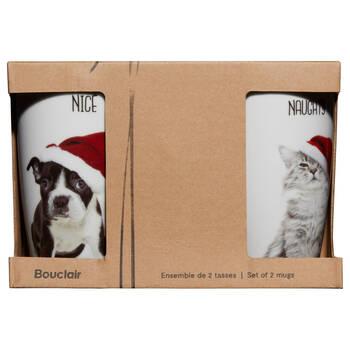 Set of 2 Naughty or Nice Mugs