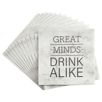 Set of 20 Great Minds Table Napkins