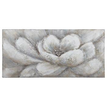 Tableau floral peint à l'huile