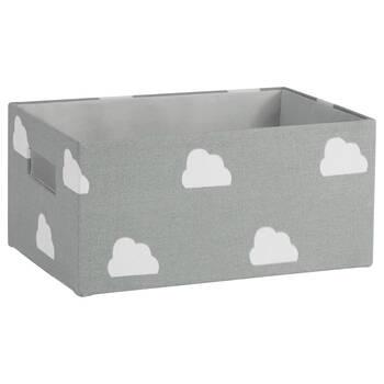 Small Cloud Pattern Storage Basket