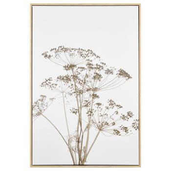 Dried Flower Framed Canvas