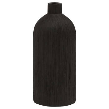 Textured Ceramic Bottle Vase