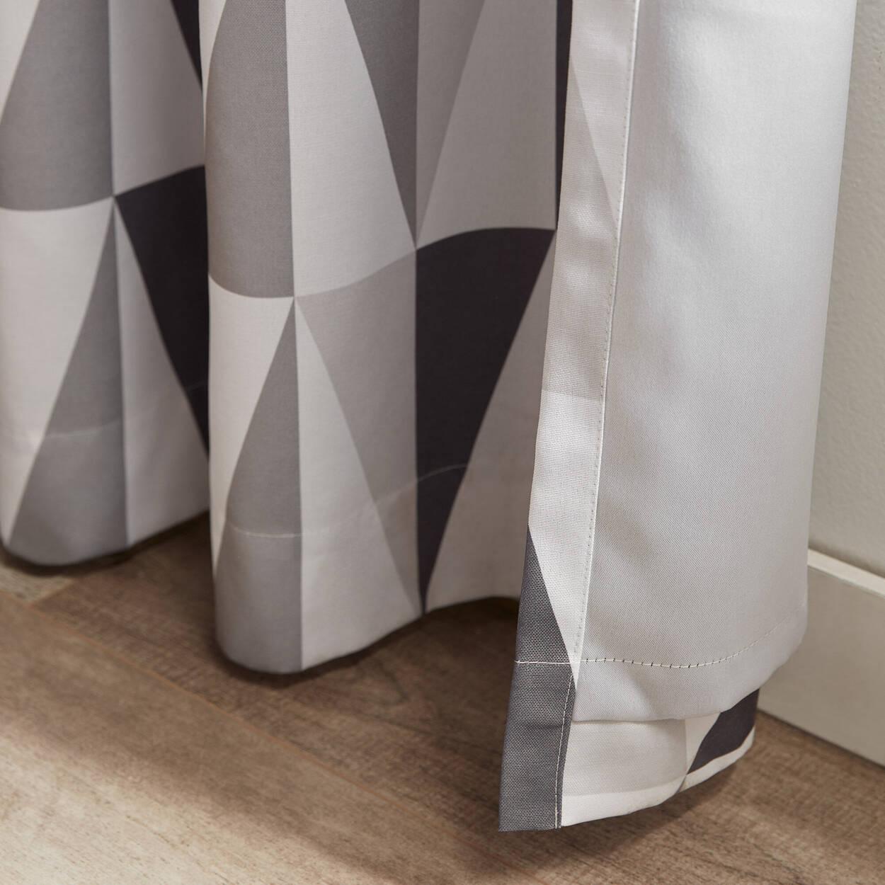 Trekant Geometric Blackout Curtain