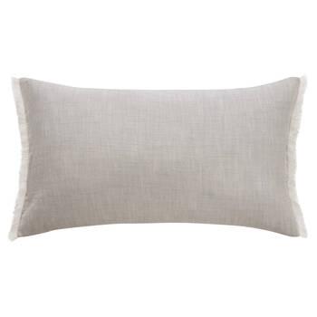 "Abel Linen Decorative Lumbar Pillow 14"" X 26"""