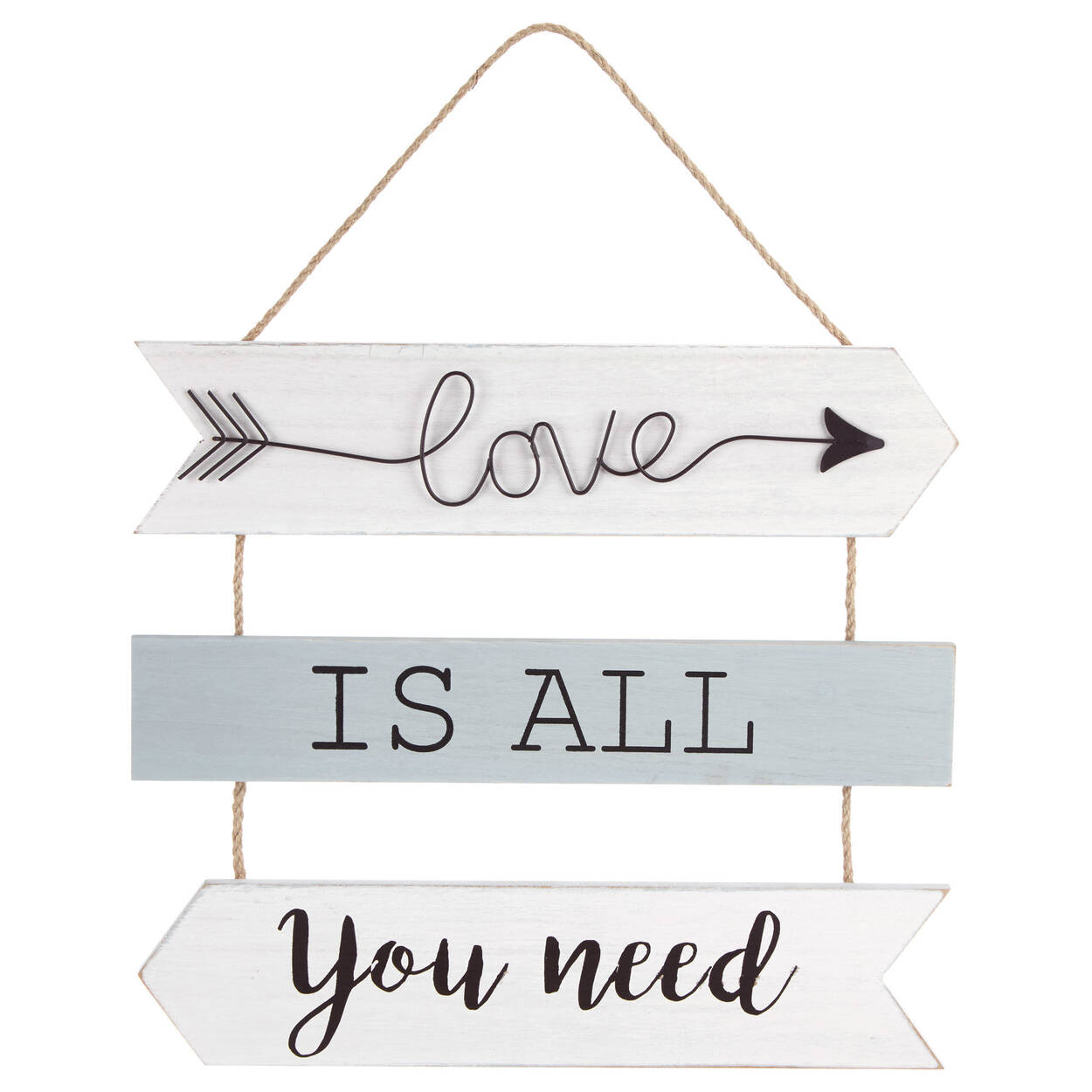 All You Need Wall Art with Rope