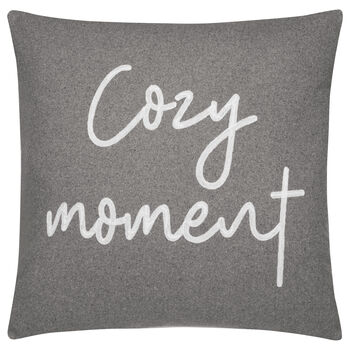 "Cozy Moment Decorative Pillow 19"" X 19"""
