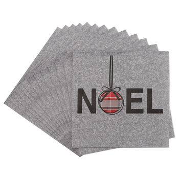Pack of 20 Noël Paper Napkins