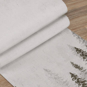 Table Runner with Trees