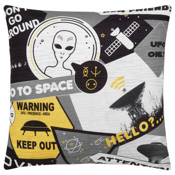 "Alien Decorative Pillow 18"" X 18"""