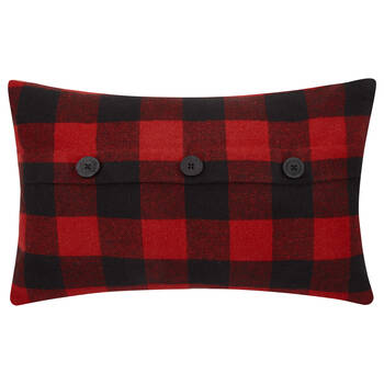 """Lewis Lumbar Plaid Decorative Pillow 13"""" X 20"""""""