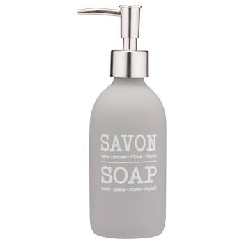 Typography Soap Dispenser
