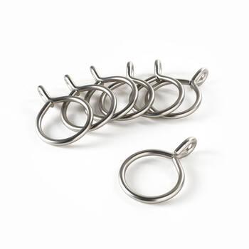 Set of 7 Metal Grommet Rings