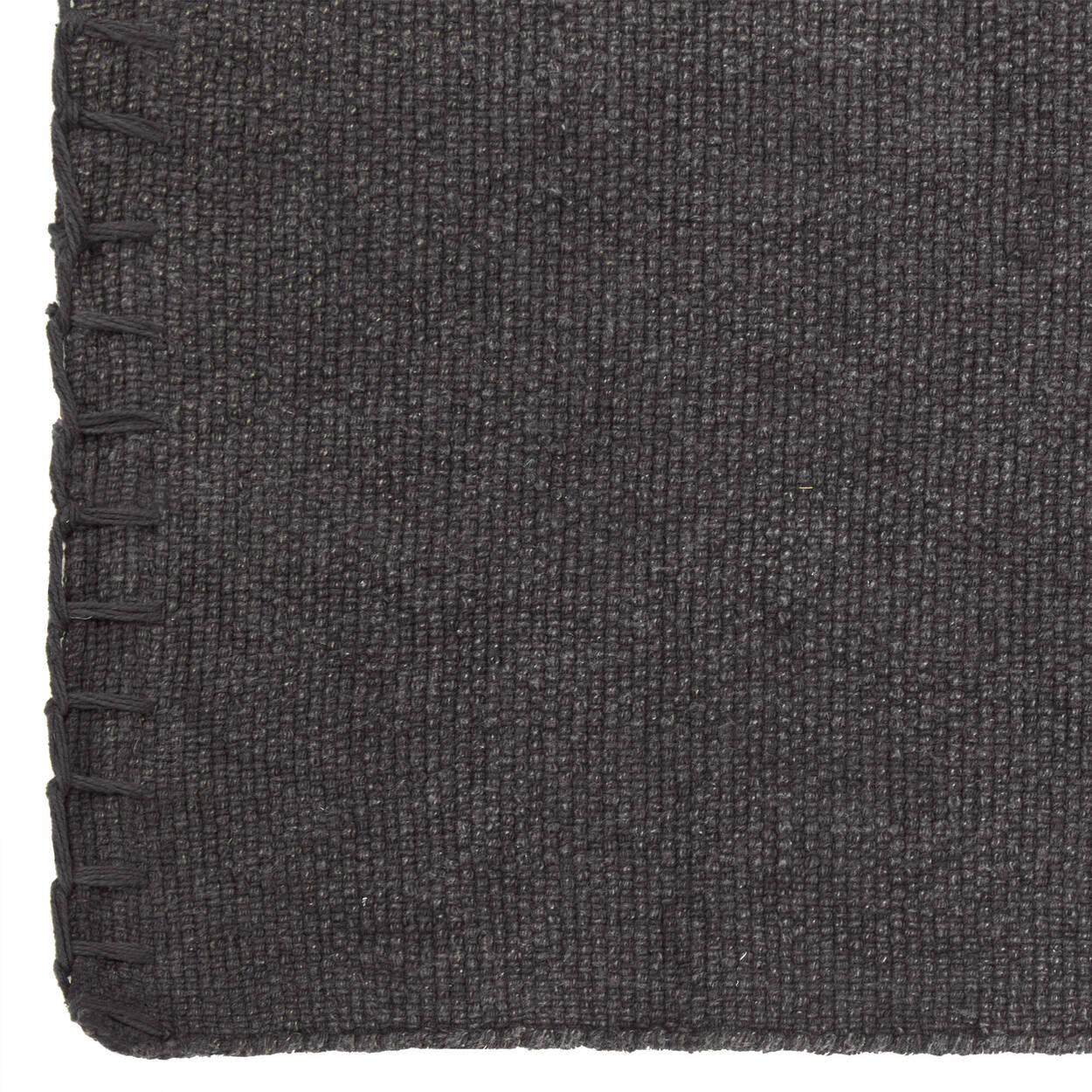 Stonewashed Charcoal Rug