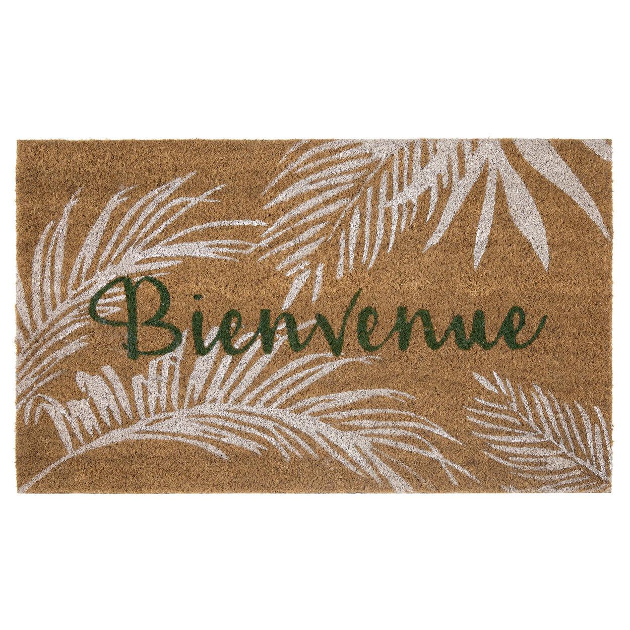 Bienvenue Tropical Doormat