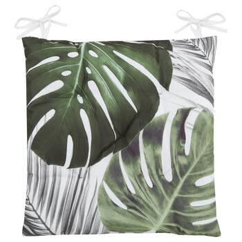 Coussin de chaise feuilles de palmier