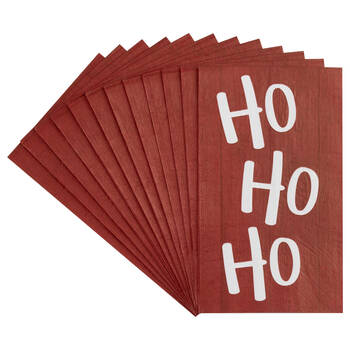 Pack of 20 Ho Ho Ho Table Napkins