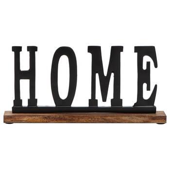Mot décoratif en aluminium Home