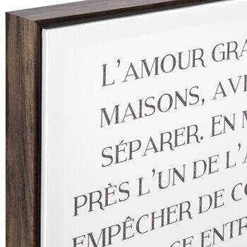 Petites Maisons Framed Art