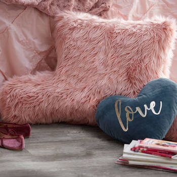 Faux Fur Reading Pillow