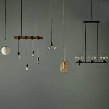 Lampe suspendue à 4 ampoules