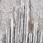 Tableau peint à l'huile à bâtons de bois abstraites