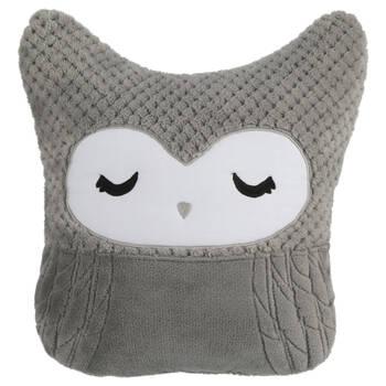 "Maelie Owl Decorative Pillow 13"" X 12"""