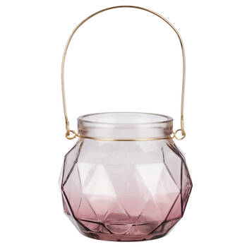Ombré Glass Candle Holder