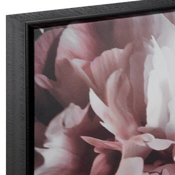 Cadre imprimé fleurs chics